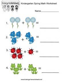 spring season worksheets kindergarten spring worksheets