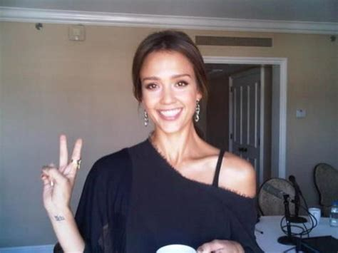 jessica alba wrist tattoo meaning alba s wrist sanskrit ancient indian