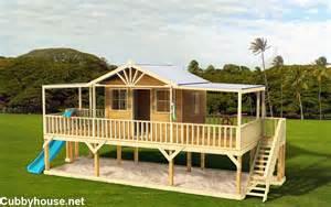 Backyard Playground Equipment Plans Queenslander Cubby House Australian Made Backyard