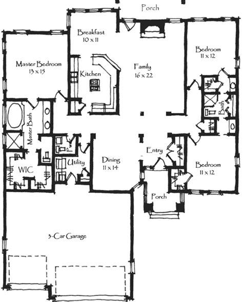 craftsman plan 1 946 square feet 3 bedrooms 2 bathrooms 009 00072 craftsman house plan 3 bedrooms 2 bath 1836 sq ft plan