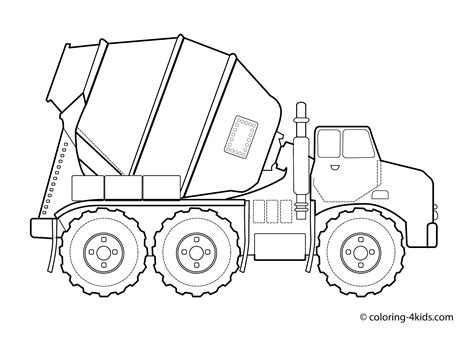 printable coloring pages vehicles construction vehicles coloring pages download and print