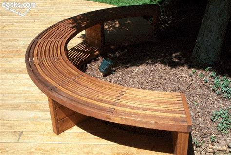 radius wooden tree diy make curved wood bench plans plans built plans to make