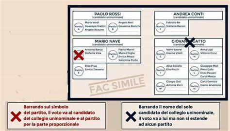 ministero interno votazioni elezioni come si vota con il rosatellum debutta la nuova