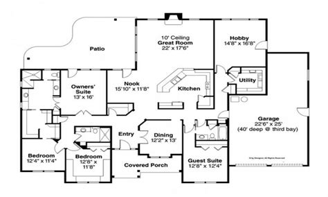 house plans 3000 sq ft ranch house plans 3000 sq ft house design plans