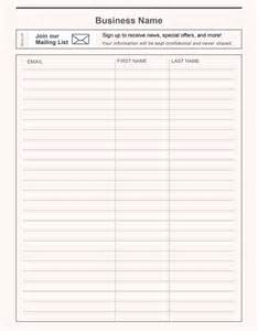 vendor sign in sheet template 17 best images about vendor event ideas on