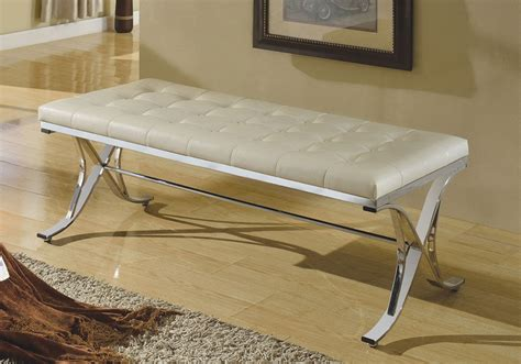 benches for hallway royce modern hallway bench stool chair beige pu cushion