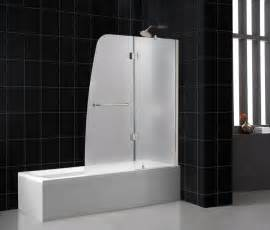 shower door for bath frosted vs clear glass shower doors bathroom