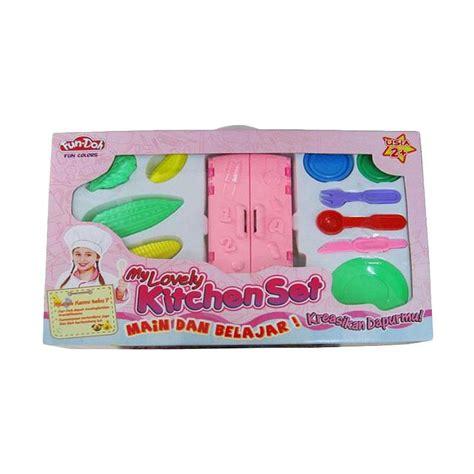 Terbaik Mainan Lilin Doh Sundae Cart jual lilin mainan play doh dhian toys