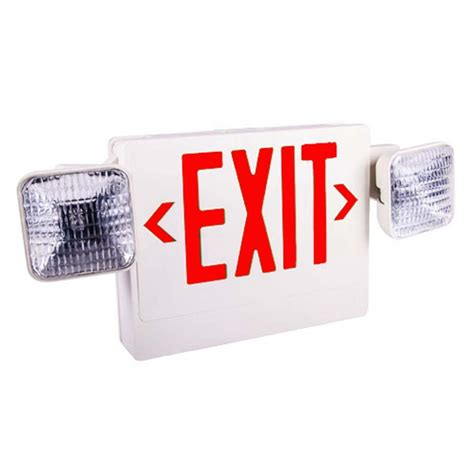 combination emergency exit sign and light with battery backup 120v led exit signs battery clip arts related to led exit sign