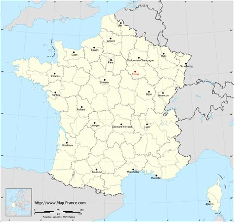 troyes map road map troyes maps of troyes 10000