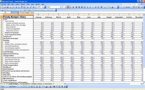 Daily Spreadsheet by Expenses Tracker Spreadsheet Laobingkaisuo