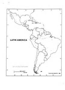 Latin America Blank Map by Geography 2 Mt San Antonio College