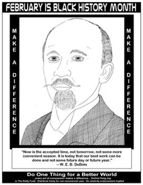 W Is For Web Coloring Page by Do One Thing February Is Black History Month