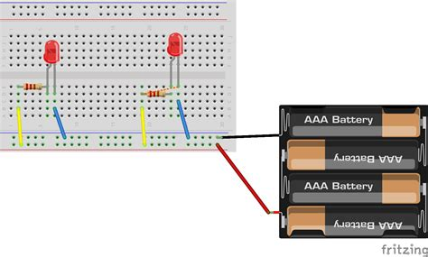 breadboard circuit in parallel lindaas robotics