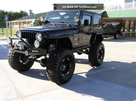 modified 4 door jeep wrangler 2001 jeep wrangler sahara sport utility 2 door 4 0l