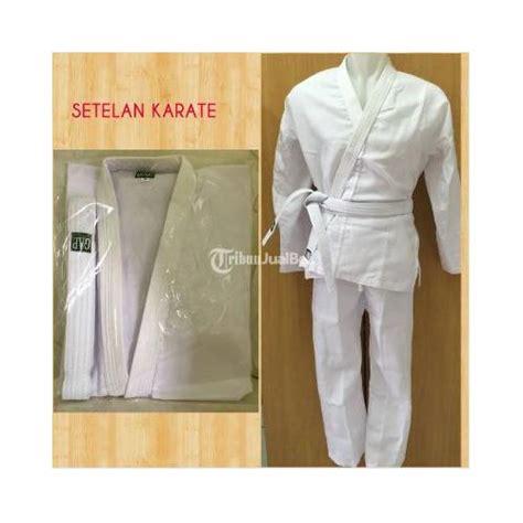 Seragam Karate Anak Baju Seragam Setelan Beladiri Taekwondo Pencak Silat