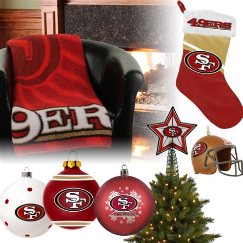 christmas gifts for 49ers fans 49ers christmas christmas decore