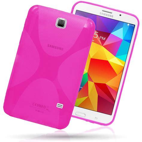Casing Samsung Galaxy Tab 4 x line clear tpu gel back cover for samsung galaxy