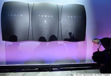 Tesla Moving To Elon Musk Unveils Tesla S Powerwall Battery And Company S