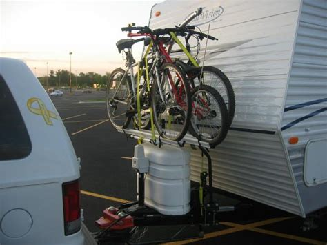 Bike Rack For Back Of Travel Trailer by 25 Best Ideas About Rv Bike Rack On Cing
