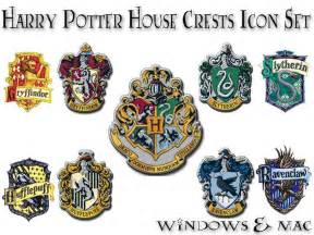 harry potter house harry potter house crest icons by xnauticalstar deviantart