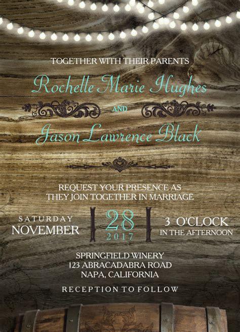 Free Rustic Wedding Invitation Templates by 25 Rustic Wedding Invitation Templates Free Sle
