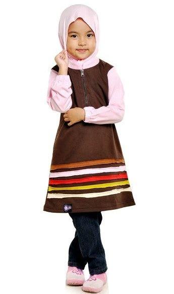 Trend Busana Muslim Anak 2016 Koleksi Baju Muslim Anak Perempuan Terlucu Dan Cantik