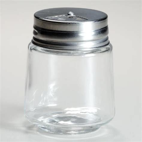 Empty Spice Shakers Cylinder Spice Jars With Metal Shaker Lids Set Of 4