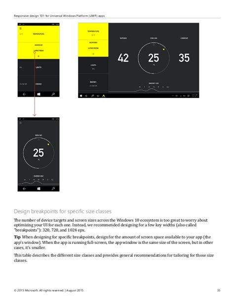 design guidelines uwp user experience guidelines for universal windows platform