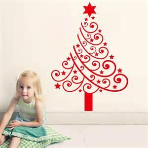 Xmas Wall Stickers aliexpress com buy new arrival christmas tree vinyl wall