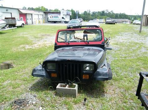 1994 Jeep Parts Sell Used 1994 Jeep Wrangler Tub Parts In