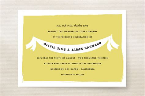 summer fete wedding invitations summer fete wedding invitations by clark minted
