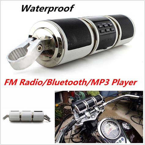 Motorrad Radio Bluetooth by Motorcycle Bluetooth Audio Sound System Mp3 Fm Radio
