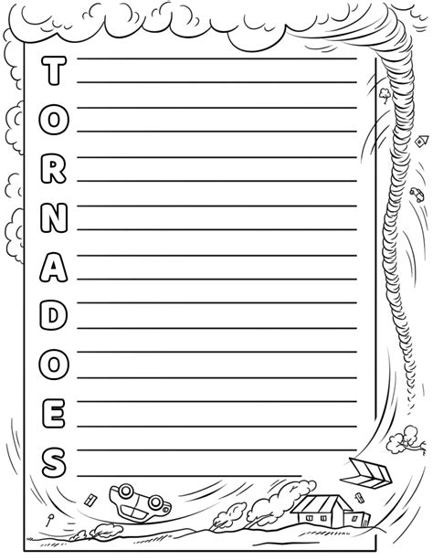 Tornadoes Acrostic Poem Template Free Printable Papercraft Templates Templates For Pages Free