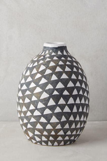 Black And White Pattern Vase | sambaya black and white vase