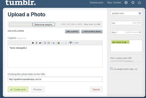 modificar layout iphone como criar um tumblr noticias receitas e novidades