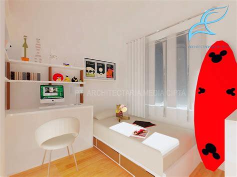 desain interior rumah luas 90 90 sqm house kamar anak perempuan 2 copy