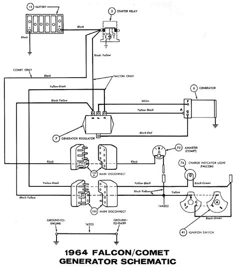 12 volt solenoid wiring diagram 1965 mustang 1964 mustang wiring diagrams average joe restoration