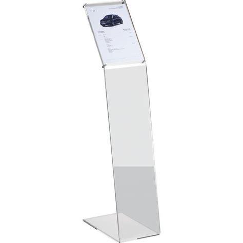 mondoffice catalogo cancelleria ufficio leggio da terra in acrilico tecnostyl a4 22x38x108 cm