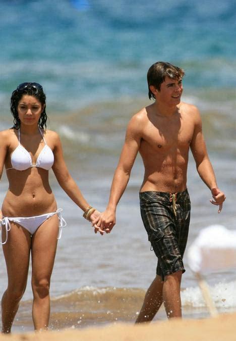 pubic hair on beach vanessa hudgens en bikini acompa 241 ada de zac efron efe blog