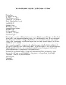 Cover Letter For It Support by Letter Of Support Exle Crna Cover Letter