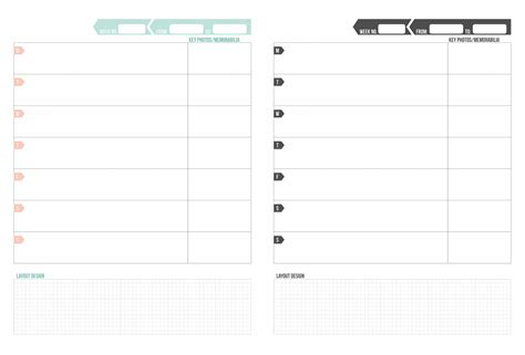 project life printable planner a vegas girl at heart freebie printable weekly planning
