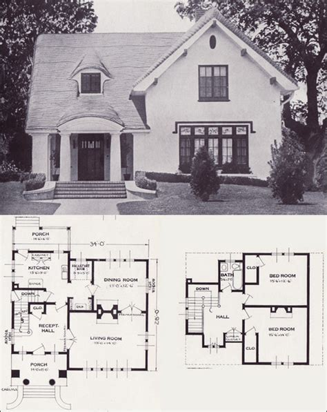 tudor house plans 1920 s 1920s 1930s house plans matthew s island of misfit toys
