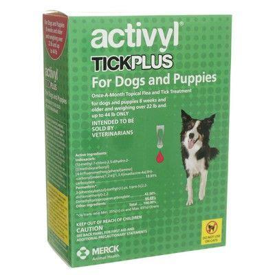 activyl tick plus for dogs activyl tick plus flea and tick treatment vetrxdirect