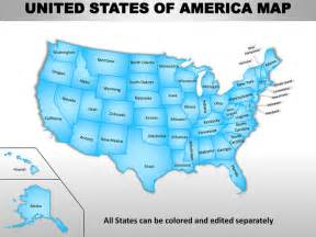 us map editable usa country editable powerpoint maps with states and counties
