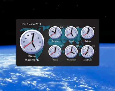 zone desk clock clocks clock widget zone app for desktop