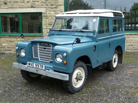 land rover series 3 swb lovely 1976 series 3 swb station wagon arrives from the