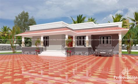 3bkh house design 3 bhk modern home design kerala home design