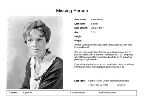 missing person poster template missing poster blue toque consulting