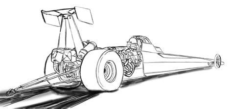 coloring pages of funny cars funny car dragster coloring pages coloring pages